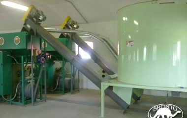 Pužna briketirka EB-350